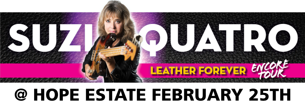 Suzi Quatro at Hope Estate