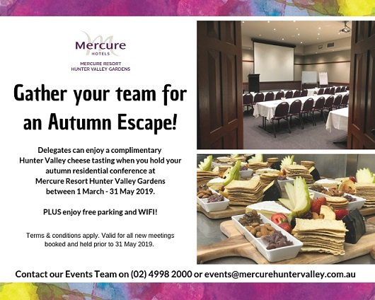 Gather your team for an Autumn Escape!