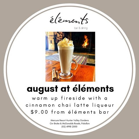 Warm up fireside with a cinnamon chai latte liqueur!