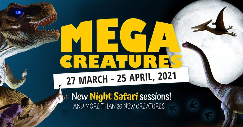 Mega Creatures Night Safari at Hunter Valley Gardens