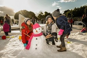 Hunter Valley Gardens-Snow Time