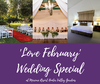 'Love February' Wedding Special at Mercure Resort Hunter Valley Gardens.